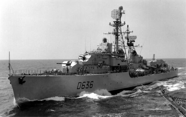 デュプレ級駆逐艦 : イセエビ戦...