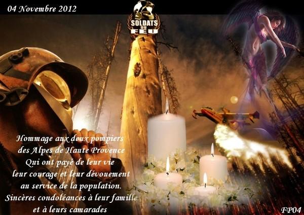 Hommage Aux Sapeurs Pompiers 4 11 2012